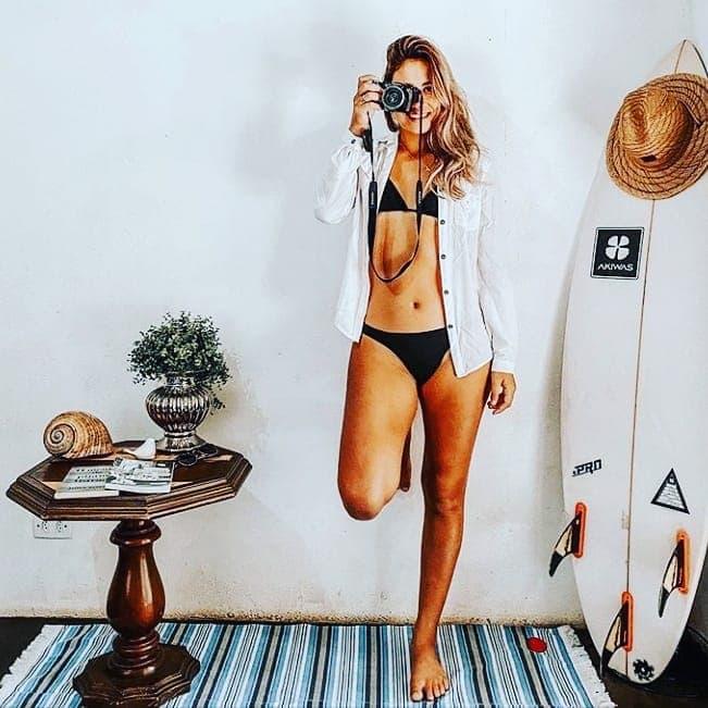 07-Qúe lindos se ven nuestra lona Tahoba en la casa de la surfista Vitoria Santos!